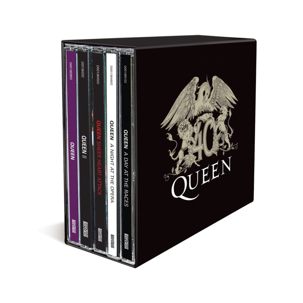 Queen Queen 40 Vol 1 3 Box Set Bundle Onvinylstore