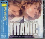 TITANIC James Horner - OST - CD JAPAN SICP-2709