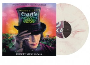 DANNY ELFMAN Charlie And The Chocolate Factory 2xLP RED & WHITE MARBLED VINYL