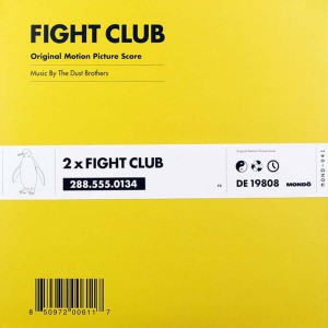 DUST BROTHERS Podziemny Krąg - Fight Club OST BLACK 2xLP (MOND-041)
