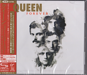 QUEEN Forever JAPAN SHM CD (UICY-15351)