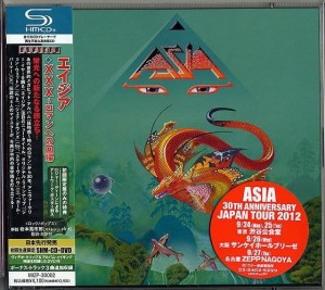 ASIA XXX SHM-CD + DVD Japan Limited Edition