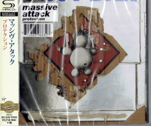 MASSIVE ATTACK Protection SHM CD japan UICY-25487