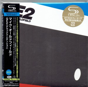 MIKE OLDFIELD QE2 japan 2x SHM-CD miniLP (UICY-94827)