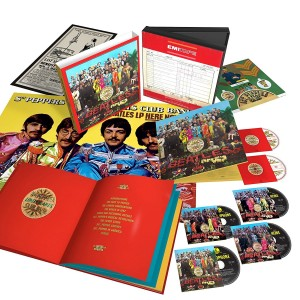 THE BEATLES Sgt.Pepper's Lonely Hearts BOX 4xCD BluRay DVD