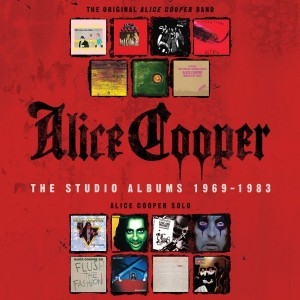 ALICE COOPER Studio Albums 1969-1983 - 15xCD BOX