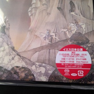 YES Relayer JAPAN hybrid SACD mini LP LIMITED 7' WPCR-15910