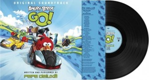ANGRY BIRDS GO ! limited LP SOUNDTRACK (OST)