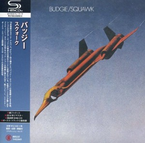 BUDGIE Squawk SHM JAPAN mini LP (BELLE-142265)