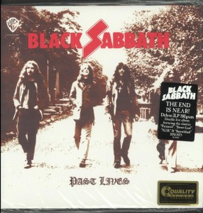 BLACK SABBATH Past Lives LIMITED 2x HQ - LP 180g