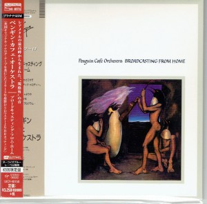PENGUIN CAFE ORCHESTRA Broadcasting From Home PLATINUM SHM UICY-40150