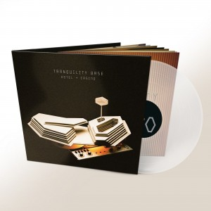 ARCTIC MONKEYS Tranquility Base Hotel & Casino (180g CLEAR VINYL INDIE STORE EDITION)