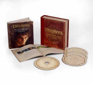 HOWARD SHORE Władca Pierścieni The Lord Of The Rings: The Fellowship Of The Ring - The Complete Recordings (3xCD + Blu-Ray Audio 5.1 multichannel)