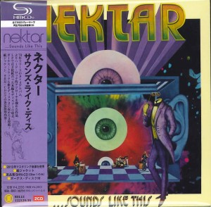 NEKTAR Sounds Like This SHM CD + CD Japan BELLE-132129
