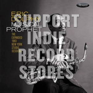 ERIC DOLPHY Musical Prophet 3xLP (BLACK FRIDAY 2018)