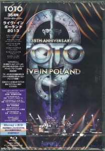 TOTO Live In Poland DELUXE JAPAN BLURAY+2xCD  VQXD-10074