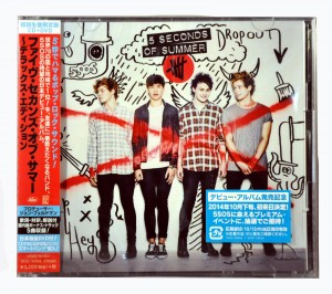 5 Seconds Of Summer 5SOS deluxe JAPAN CD+DVD+bonus UICC-90002