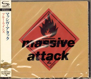 MASSIVE ATTACK Blue Lines SHM CD JAPAN UICY-25486