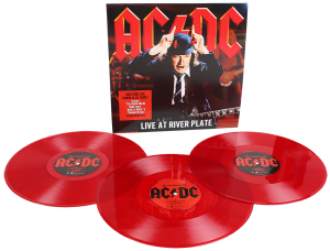 AC/DC Live At River Plate 2009 LIMITED RED 3xLP