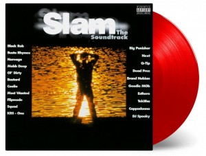 DJ SPOOKY SLAM - OST - red 180g numbered 2xLP (MOVATM113)
