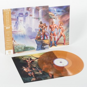 GOLDEN AXE I & II - Sega OST - Gold Translucent LP  (DATA007)