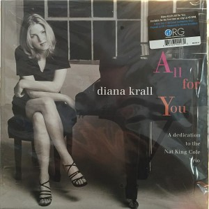 DIANA KRALL All For You Nat King Cole 2xLP ORG006 45rpm