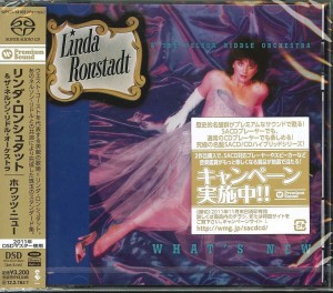 LINDA RONSTADT & THE NELSON RIDDLE ORCHESTRA What's New JAPAN SACD WPCR-14169
