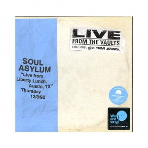 "RSD18 SOUL ASYLUM ""Live from Liberty Lunch, TX"" Thursday 12/3/92 (2xLP)"