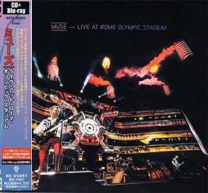 MUSE Live At Rome Olympic Stadium JAPAN DELUXE CD+BluRay WPZR-30505