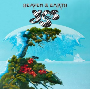 YES Heaven & Earth WHITE VINYL LIMITED EDITION