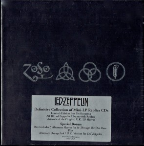 LED ZEPPELIN Definitive Collection BOX 12xCD