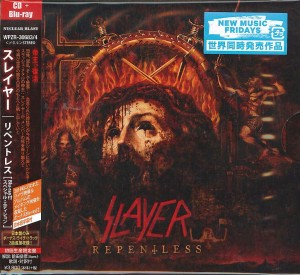 SLAYER Repentless CD+Blu-ray JAPAN (WPZR-30683)