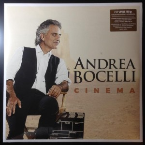 ANDREA BOCELLI Cinema 2xLP 180g (limited numbered edition)