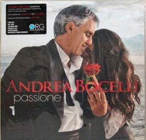 ANDREA BOCELLI PASSIONE numbered 180g 2xLP (ORG-155)
