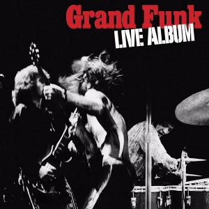 GRAND FUNK RAILROAD Live Album (FRIDAY MUSIC 2xLP)