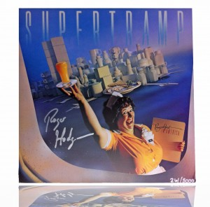 SUPERTRAMP Breakfast In America - SIGNED by ROGER HODGSON 261/5000