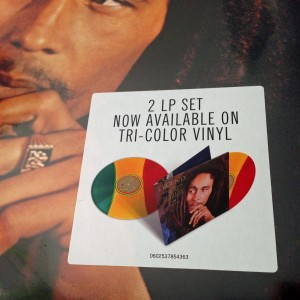 BOB MARLEY & THE WAILERS Legend 30 anniversary 3-COLOR LP
