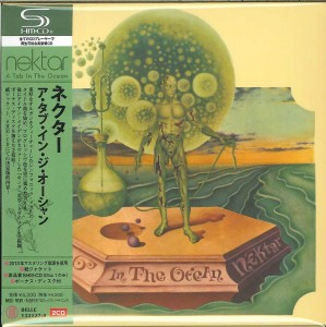 NEKTAR A Tab In The Ocean SHM CD +CD Japan mini LP BELLE- 132127