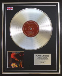 E.L.O. Discovery ELO PLATYNOWA LP display