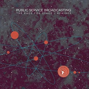 PUBLIC SERVICE BROADCASTING Race For Space REMIXES LP