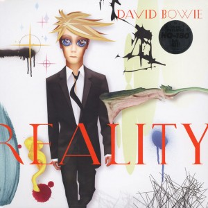 DAVID BOWIE Reality - US 2015 Clear 180g LP