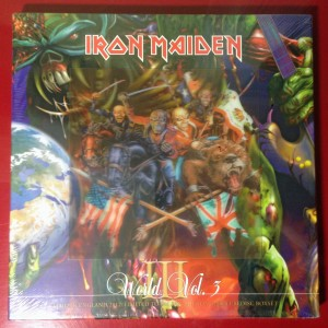 IRON MAIDEN World Vol.3 limited BOX 4xPicture Disc
