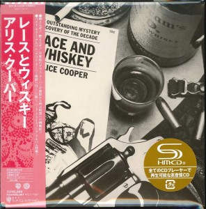 ALICE COOPER Lace And Whiskey JAPAN miniLP SHM CD WPCR-14308