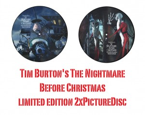 Tim Burton THE NIGHTMARE BEFORE CHRISTMAS OST 2xPD 2104 US