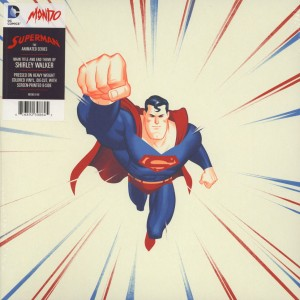 "Shirley Walker OST Superman The Animated Series (MOND-048 color 12"")"