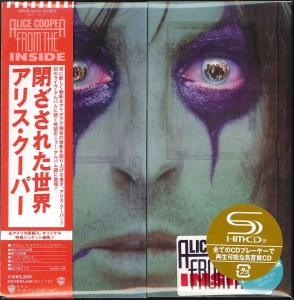 ALICE COOPER From The Inside SHM japan press WPCR-14310