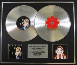 KIM WILDE & THE VERY BEST OF: DOUBLE PLATINUM EDITION DISPLAY