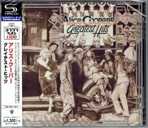 Alice Cooper's Greatest Hits JAPAN SHM-CD (WPCR-26228)