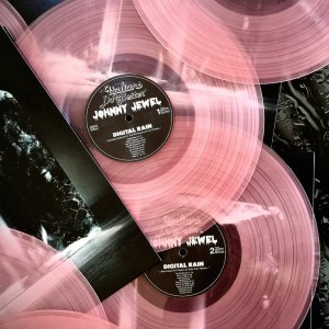 JOHNNY JEWEL Digital Rain  - PINK COLOURED VINYL LP 2018