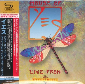 YES Live From House Of Blues JAPAN 2xSHM-CD (VSCD-4355)